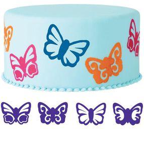 4-Pc. Butterflies Cake Stamp Set