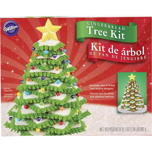Wilton Gingerbread Cookie Tree Kit