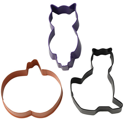 3 Pc. Halloween Cookie Cutters