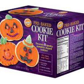 Pre-Baked Halloween Cookie Kit