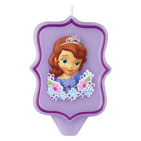 Sofia the First Birthday Candle