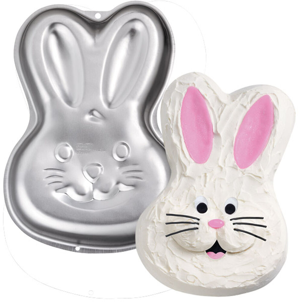 Wilton Easter Bunny Cake Pan Instructions
