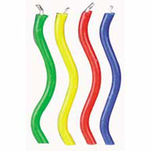 Rainbow Wavy Trick Candles