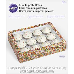 Jimmie Sprinkles Mini Cupcake Treat Boxes