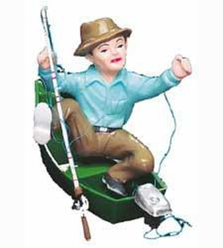 Frustrated Fisherman Cake Topper