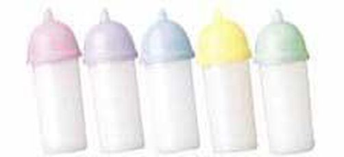 Mini Baby Bottles Favor Accents