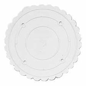 13 in. Decorator Preferred Scalloped Separator Plate