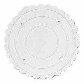 14 in. Decorator Preferred Scalloped Separator Plate