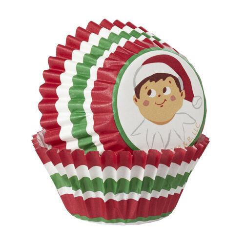 The Elf on the Shelf Mini Baking Cups, 50-Ct.
