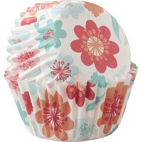 Floral Mini Cupcake Liners