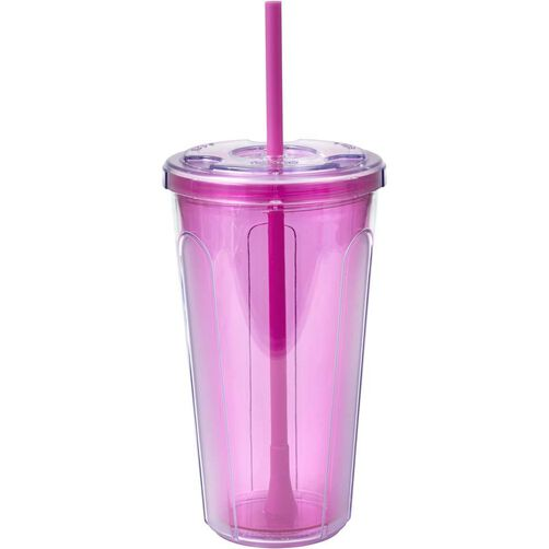 Double Wall Cold Pink Tumbler