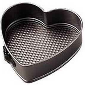 9 in. x 2 3/4 in. Excelle Elite Non-Stick Heart Springform Pan
