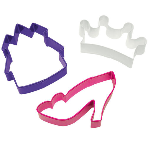 3 Pc. Princess Cookie Cutter Set