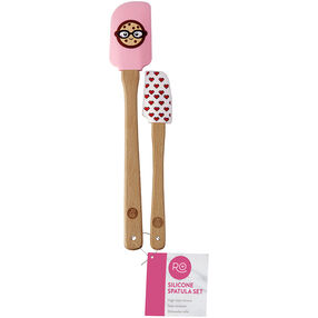Ro Smart Cookies Spatula Set, 2 spatulas, one small, one standard