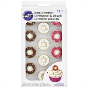 Wilton Donut Icing Decorations, 12-Ct.