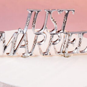 Just Married Cake Pick