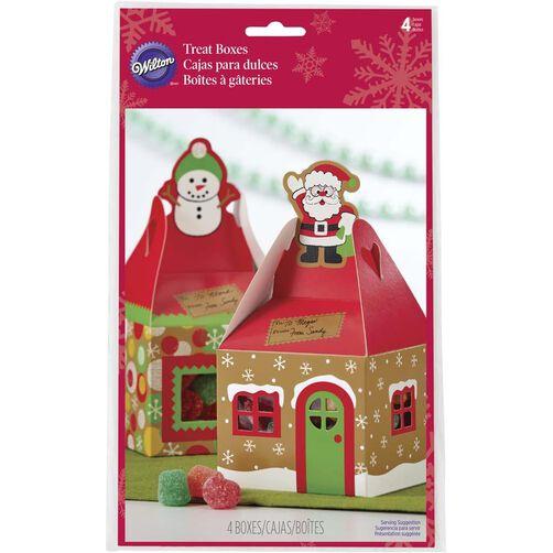 Wilton Mini Gingerbread House Mini Treat Boxes