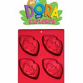 Dora the Explorer Mini Treats Cake Pan