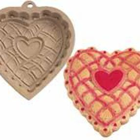 Sweet Heart Clay Cookie Mold