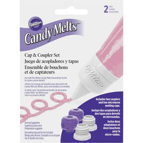 Candy Melts Cap & Coupler Set