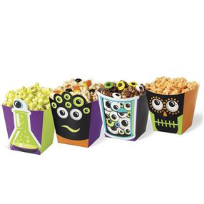 Wilton Monster Popcorn Treat Boxes, 4 Ct.