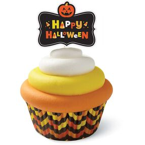 Wilton Halloween Candy Corn Cupcake Decorating Kit