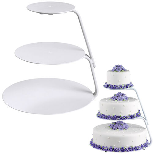 Cake Decorating Classes Zimbabwe : Floating Tiers Cake Stand Wilton