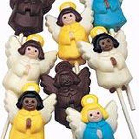 Angels Lollipop Mold