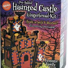 Pre-Baked Haunted Castle Gingerbread Kit