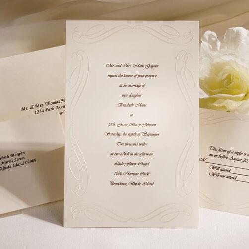 Loving Beginnings Invitation Kit (Ivory)