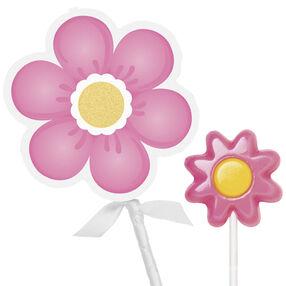 Pink Flower Lollipop Pocket Kits