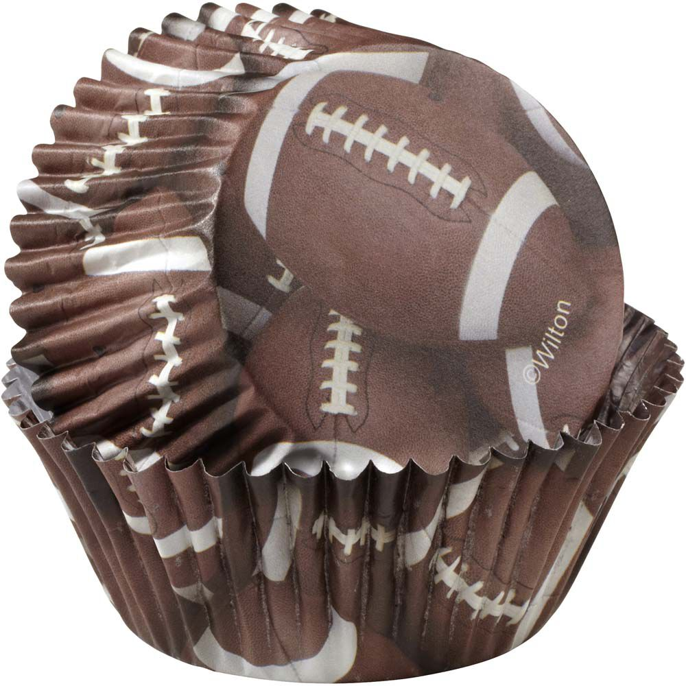 Colorcups Football Cupcake Liners Wilton