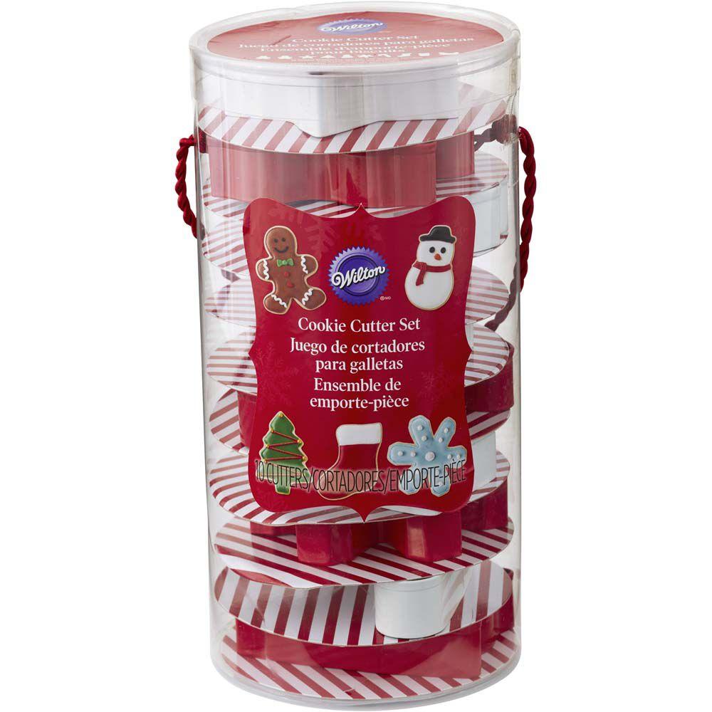 10-Piece Christmas Cookie Cutter Set | Wilton