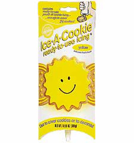 Yellow Ice-A-Cookie