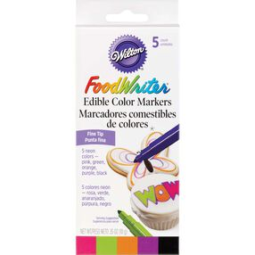 FoodWriter Neon Edible Markers