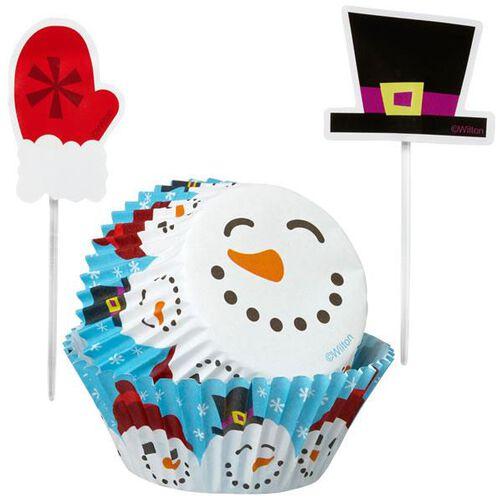 Christmas Merry & Sweet Cupcake Decorating Kit