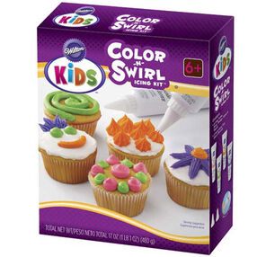 Color-N-Swirl Icing Kit - Bright