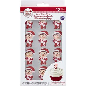Wilton Elf on the Shelf Candy Cane Decorations