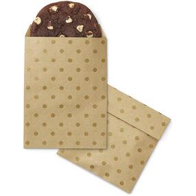 Polka Dot Kraft Paper Treat Bags