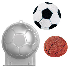 Soccer Ball Shaped Cake Pan