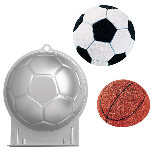 Soccer Ball Shaped Cake Pan