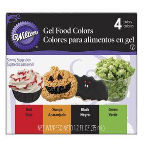 Wilton Halloween 4-Pack Food Gel Colors