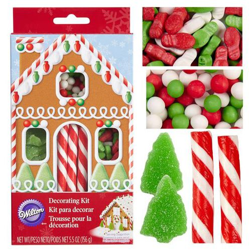Gingerbread House Basic Candy Kit