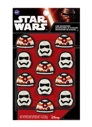 STAR WARS ICING DEC 12CT