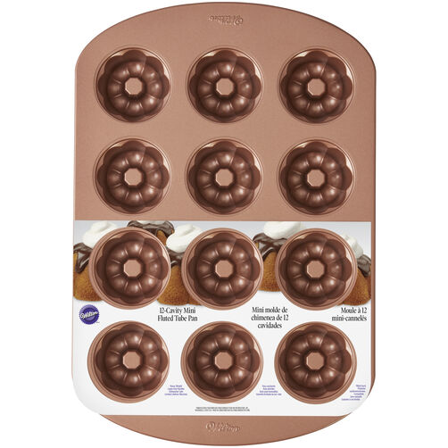 Mini Fluted Bundt Cake Pans Wilton