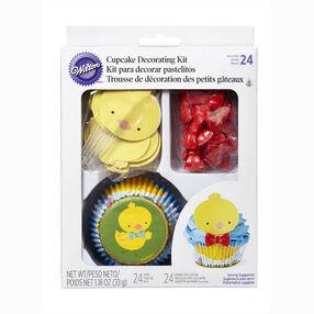 Wilton Chicks Cupcake Decorating Kit, 24-Ct.