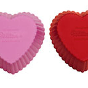 Heart Silicone Standard Baking Cups