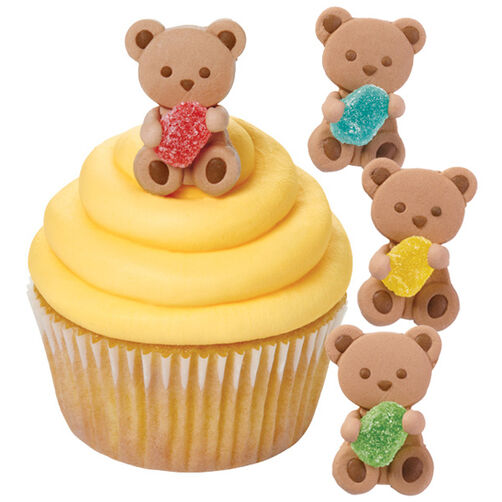 Bear and Gum Drop Icing Decoration