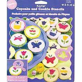 Easter Cupcake & Cookie Stencils