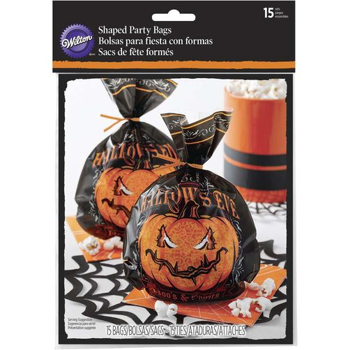 All Hollows Eve Shaped Halloween Treat Bags